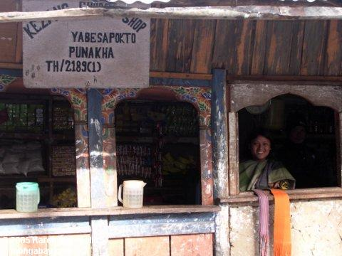 Bhutanese Markt