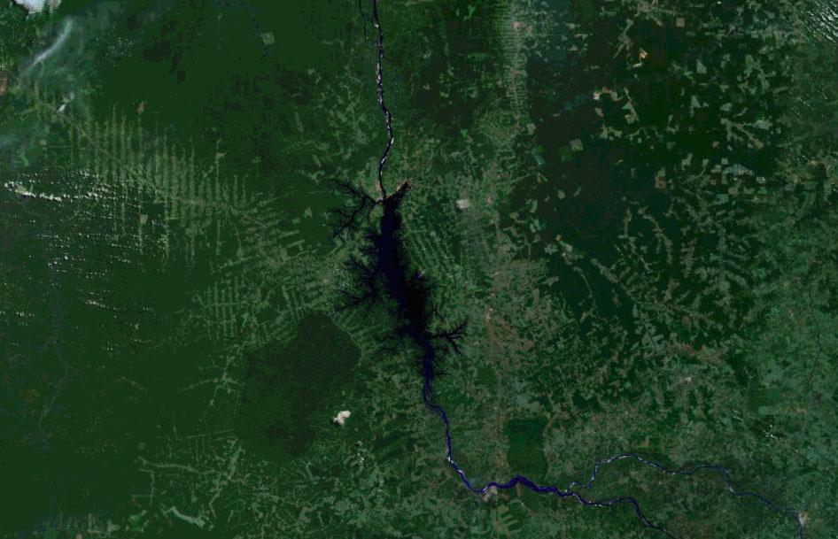 Turucui dam in Brazil