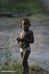 Child in Gabon