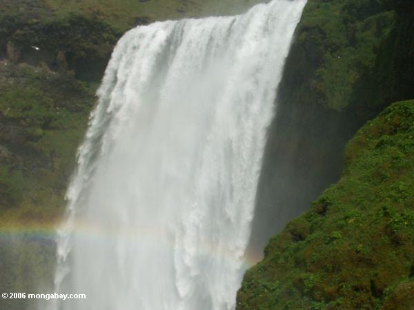 Wasserfall nahe Skogar