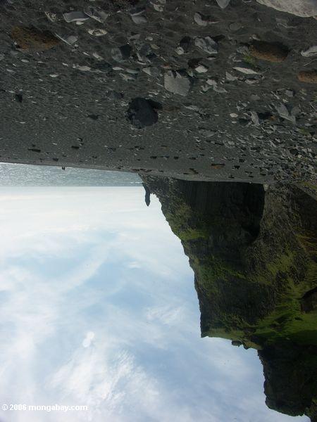 Seehöhle nahe Vik