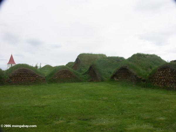 Rasenhäuser bei Glaumbaer