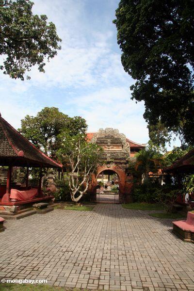 Hof Puri Saren Agung am Palast in Ubud