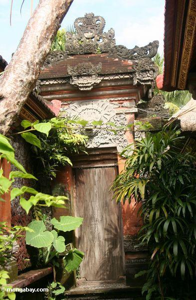 Eingang Puri Saren Agung am Palast