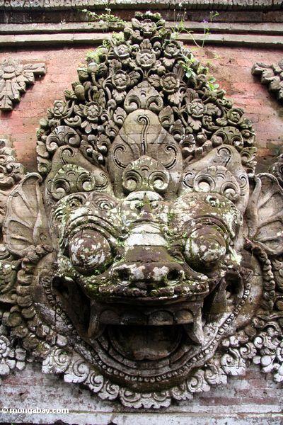 Gesicht bei Puri Saren Agung Ubud
