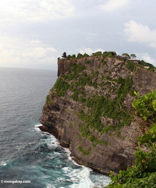 Hohe Klippen von Uluwatu in Bali