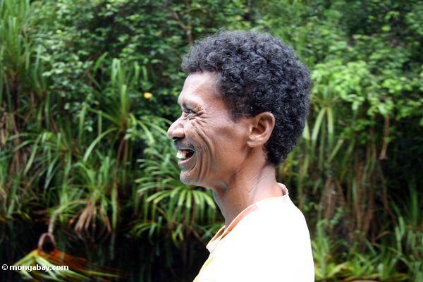 headshot профиль Томаса wuwur, характер руководства в Калимантан