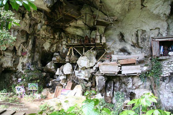 гробы на Londa nanggala