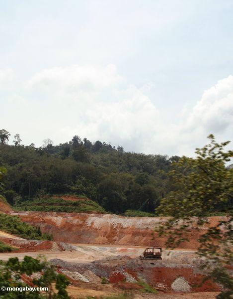 добычи полезных ископаемых в малайзийских лесов
