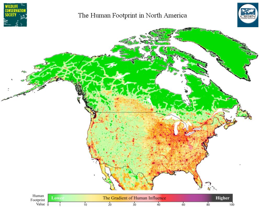 Footprint Map