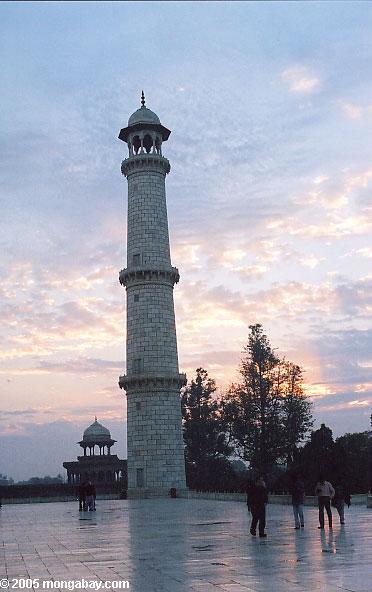 Minaret de Taj Mahal
