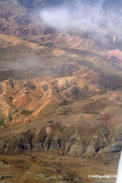 горы Анды в Перу