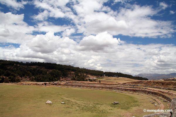 отражающие бассейн / астрономической обсерватории на Саксайуаман