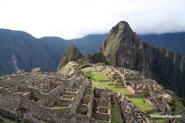 Machu Picchu en Perú fue construido por los Incas.