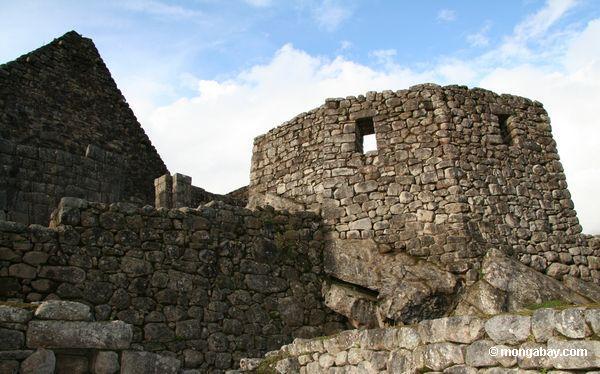 Machu Picchu visto sobre de Huayna Picchu