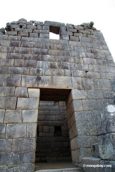 Porta em Machu Picchu