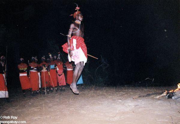 Маси Мара молодежи в Кении
