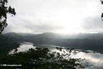 Morning fog over Lake Nyinambuga