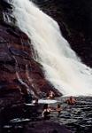 Pool at the base of Angel falls