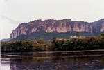Pink sandstone of Auyantepui