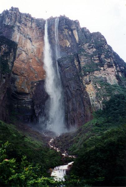 Engel Fälle, der höchste Wasserfall der Welt