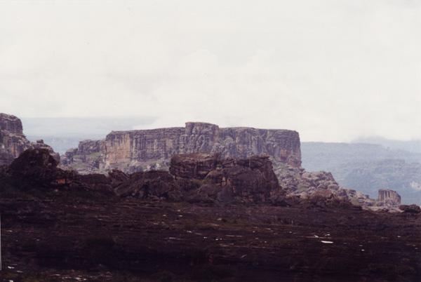 Вид с вершины tepui