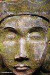 Stone face at Puri Saren Agung (Ubud, Bali)
