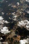 Aerial view of mining in Java (Java)