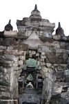 Doorways at Borobudur (Java)