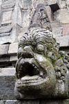 Angry face at Borobudur (Java)