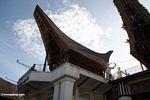 Typical Toraja house (Toraja Land (Torajaland), Sulawesi)