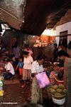Central market in Rantepao (Toraja Land (Torajaland), Sulawesi)