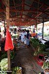 Commerce at vegetable market in Rantepao (Toraja Land (Torajaland), Sulawesi)