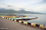 Boats in Palopo harbor (Sulawesi (Celebes))