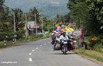Fully loaded motorcycle (Sulawesi (Celebes))