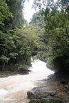 The raging Bantimurung waterfall (Sulawesi (Celebes))