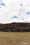 Large carved and fitted stones at Sacsayhuaman; Inca ruins outside Cuzco