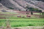 Farm houses in the Urubamba valley