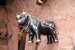 Ceramic bull